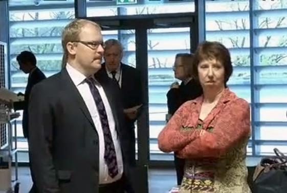 Кэтрин Эштон и Урмас Паэт