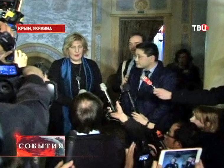 Представитель ОБСЕ по вопросам свободы слова Дунья Миятович