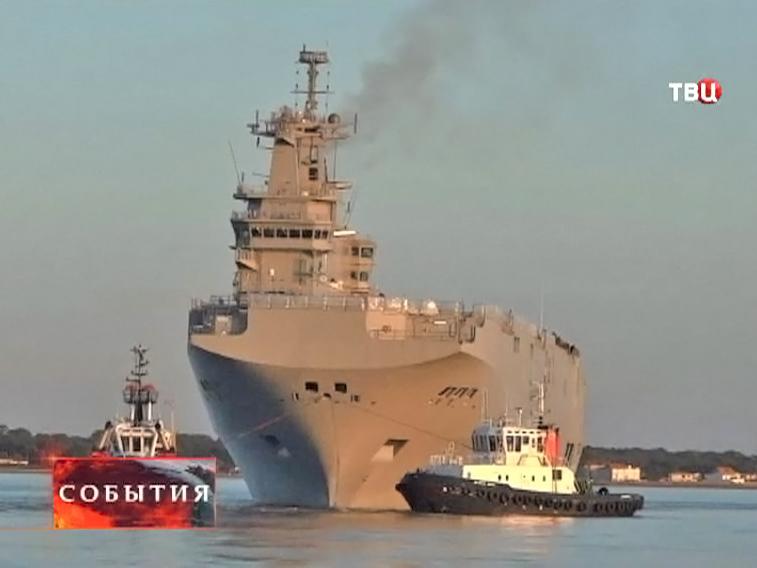 """Российский вертолетоносец """"Мистраль"""""""