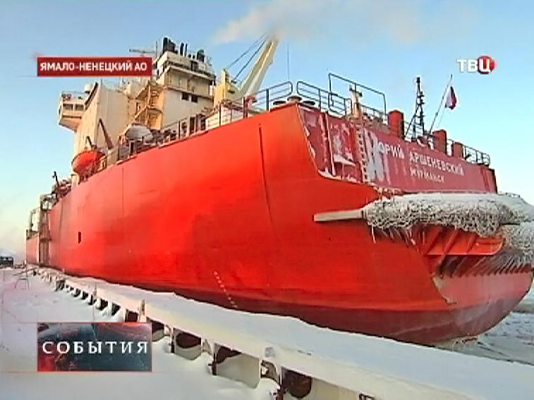 Морской порт в Ямало-Ненецком автономном округе