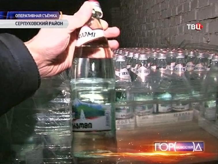 """Подпольное производство минеральной воды """"Боржоми"""""""