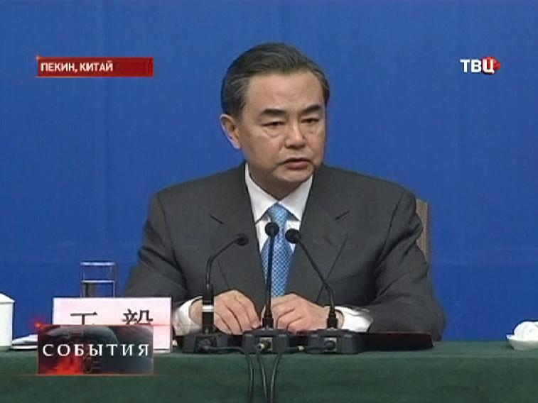 Министр иностранных Китая Ван И