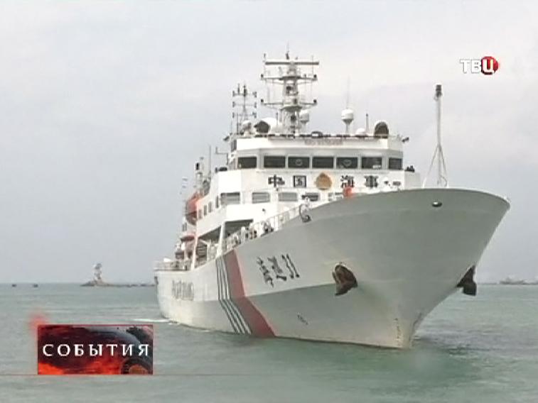 Поисковые корабли в Южно-Китайском море