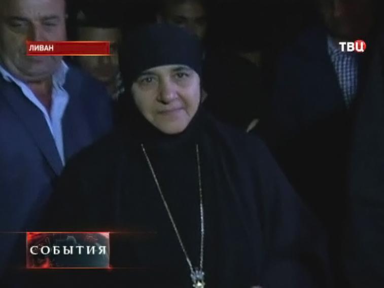 Монахиня освобожденные из плена