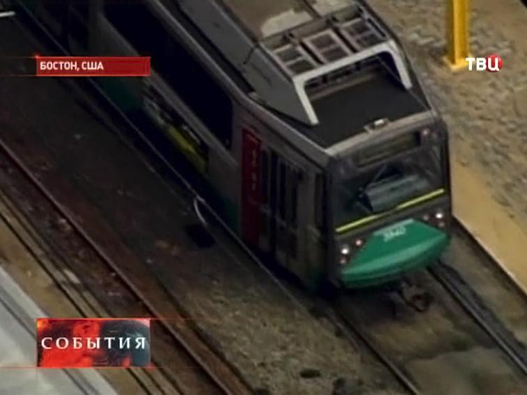 Авария в метро в США