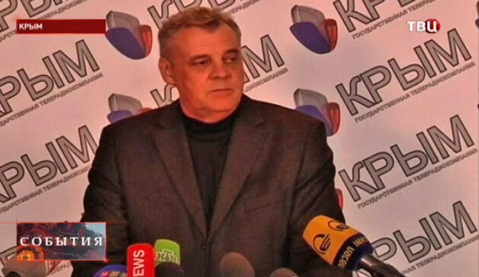 Председатель ЦИК Автономной Республики Крым Михаил Малышев