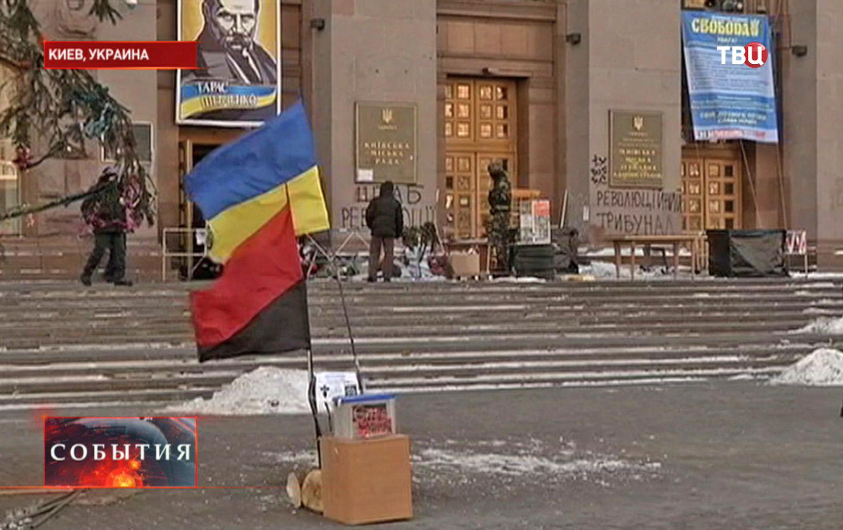 Здание Верховной Рады в Киеве