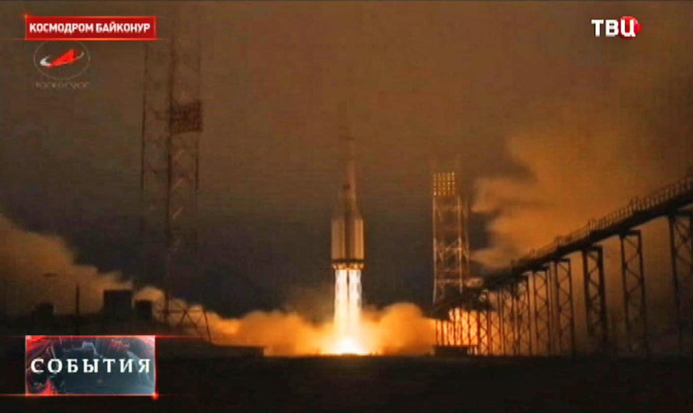 """Запуск ракета-носителя """"Протон-М"""""""