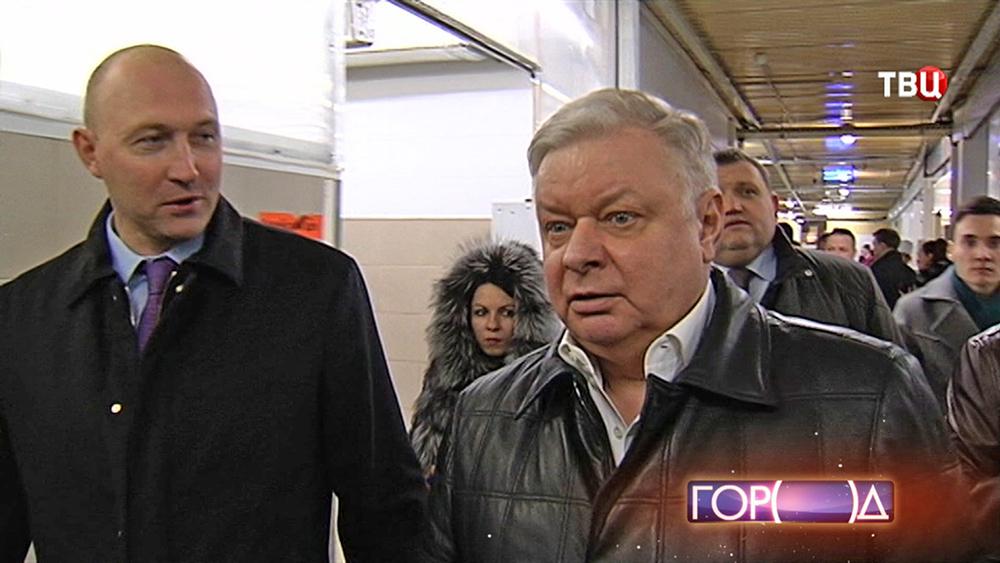 Руководитель ФМС России Константин Ромодановский принял участие в рейде
