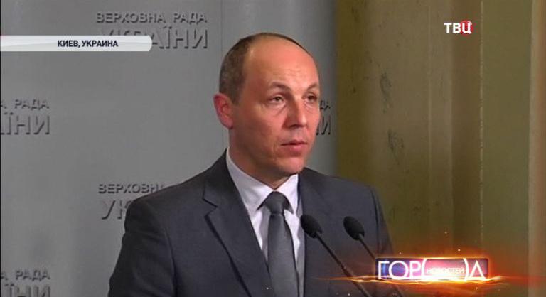 Глава СНБО Украины Андрей Парубий