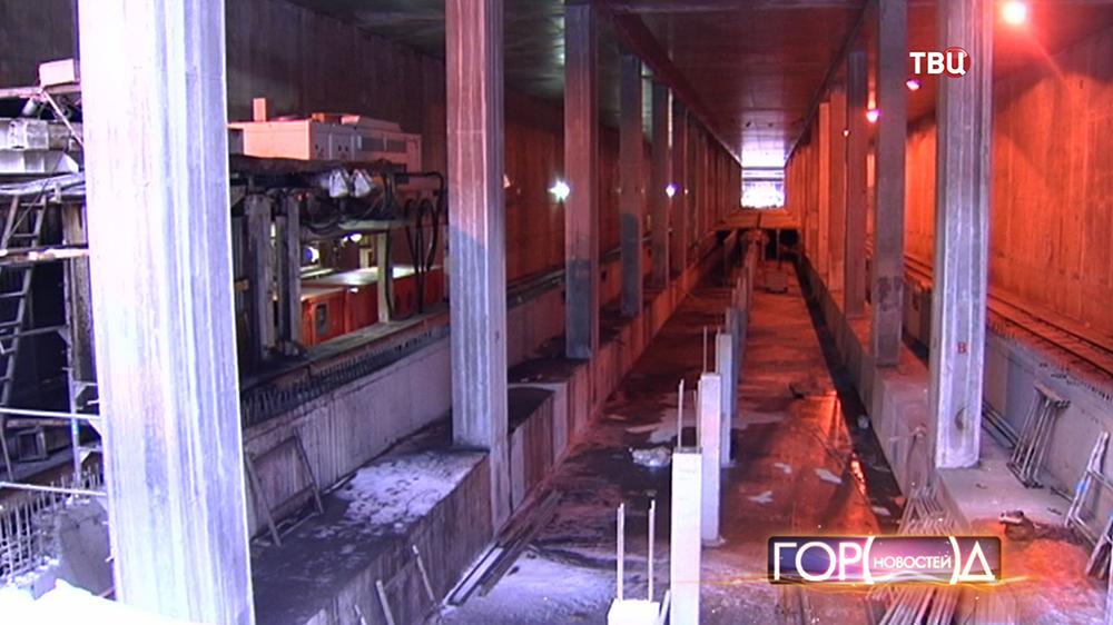 Строительство третьего пересадочного контура Московского метрополитена