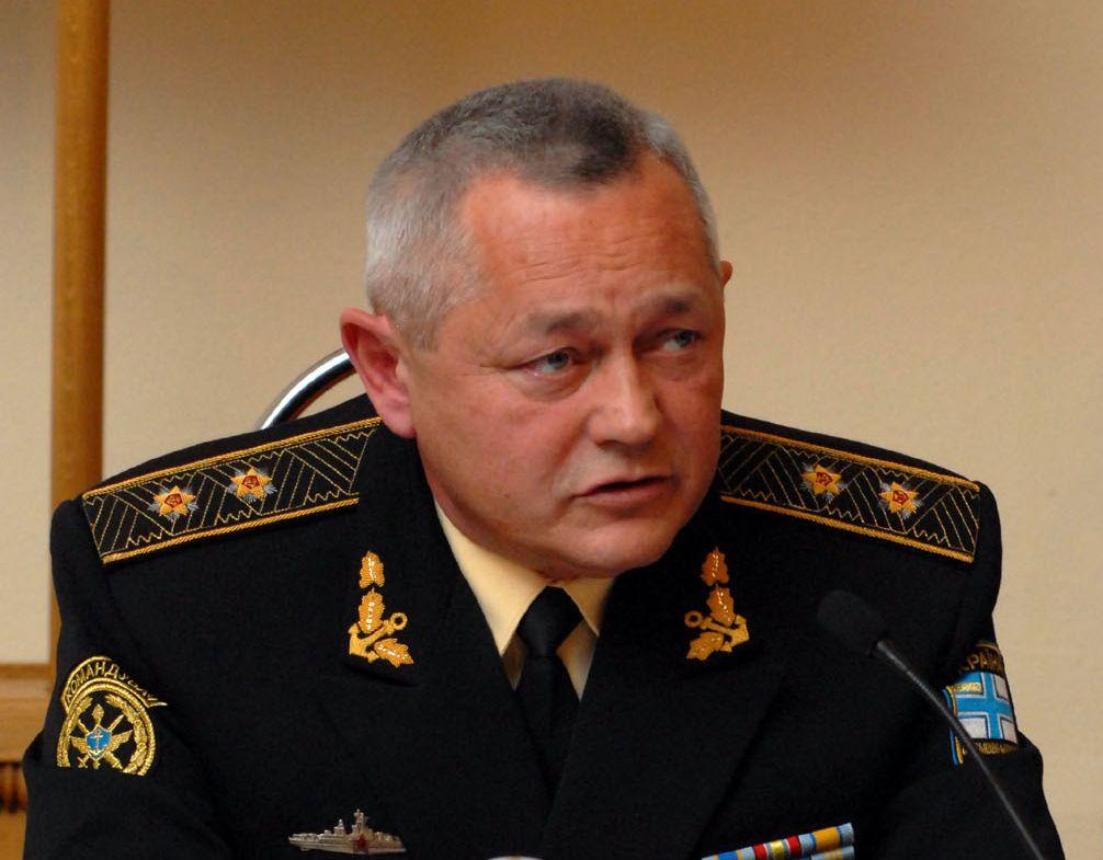 И. о. министра обороны Украины Игорь Тенюх