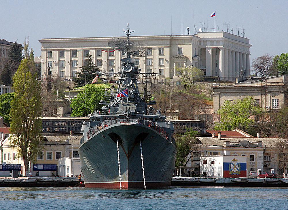 Военно-морская база Черноморского флота  в Севастополе