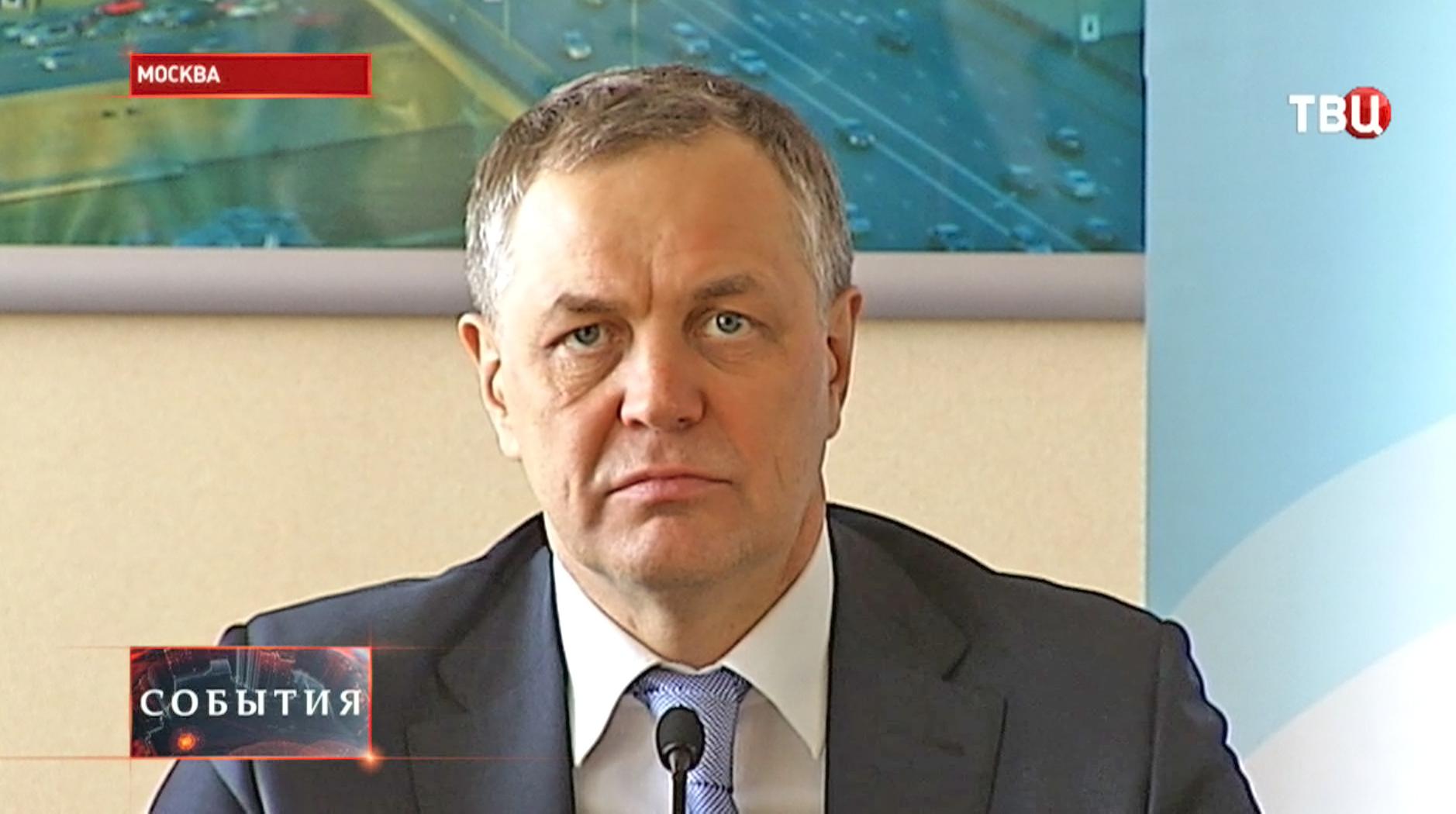 руководитель Департамента развития новых территорий Москвы Владимир Жидкин