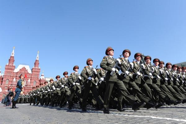 Парад Победы в Москве 9 мая