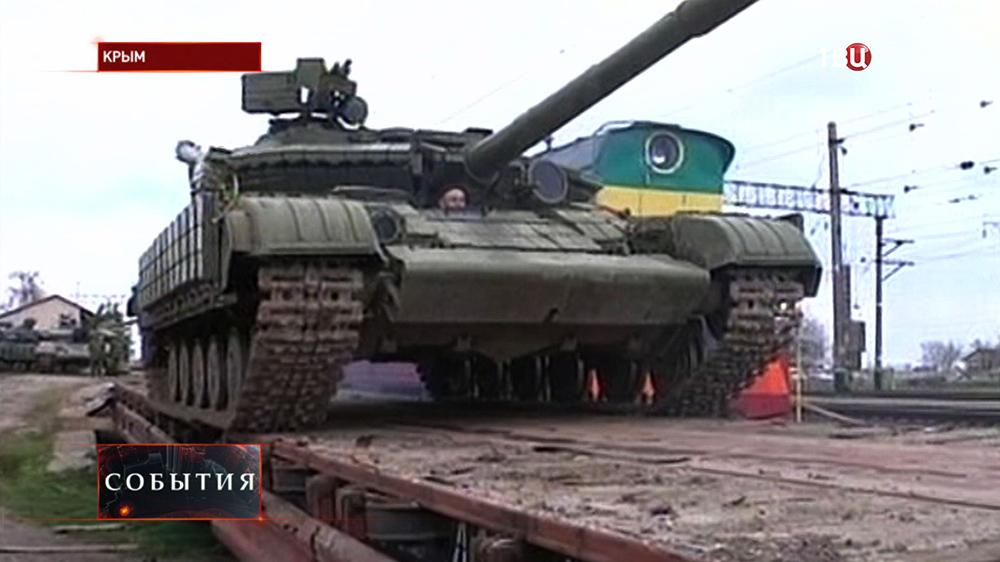 Военная техника в Крыму