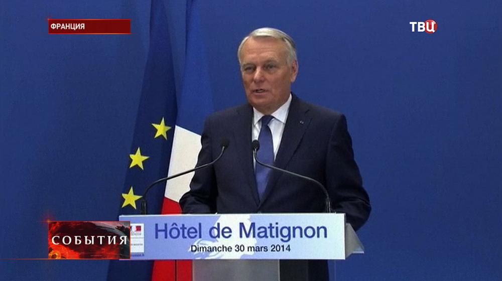 Премьер-министр Франции Жан-Марк Эйро