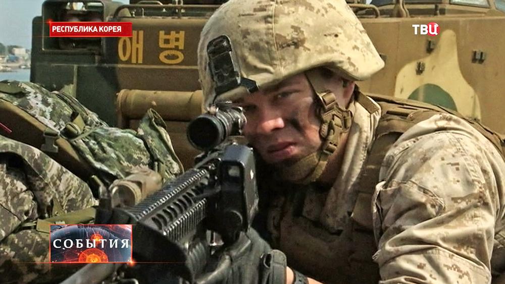 Военнослужащие США в Южной Корее