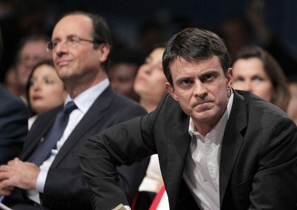 Франсуа Олланд и Мануэль Вальс