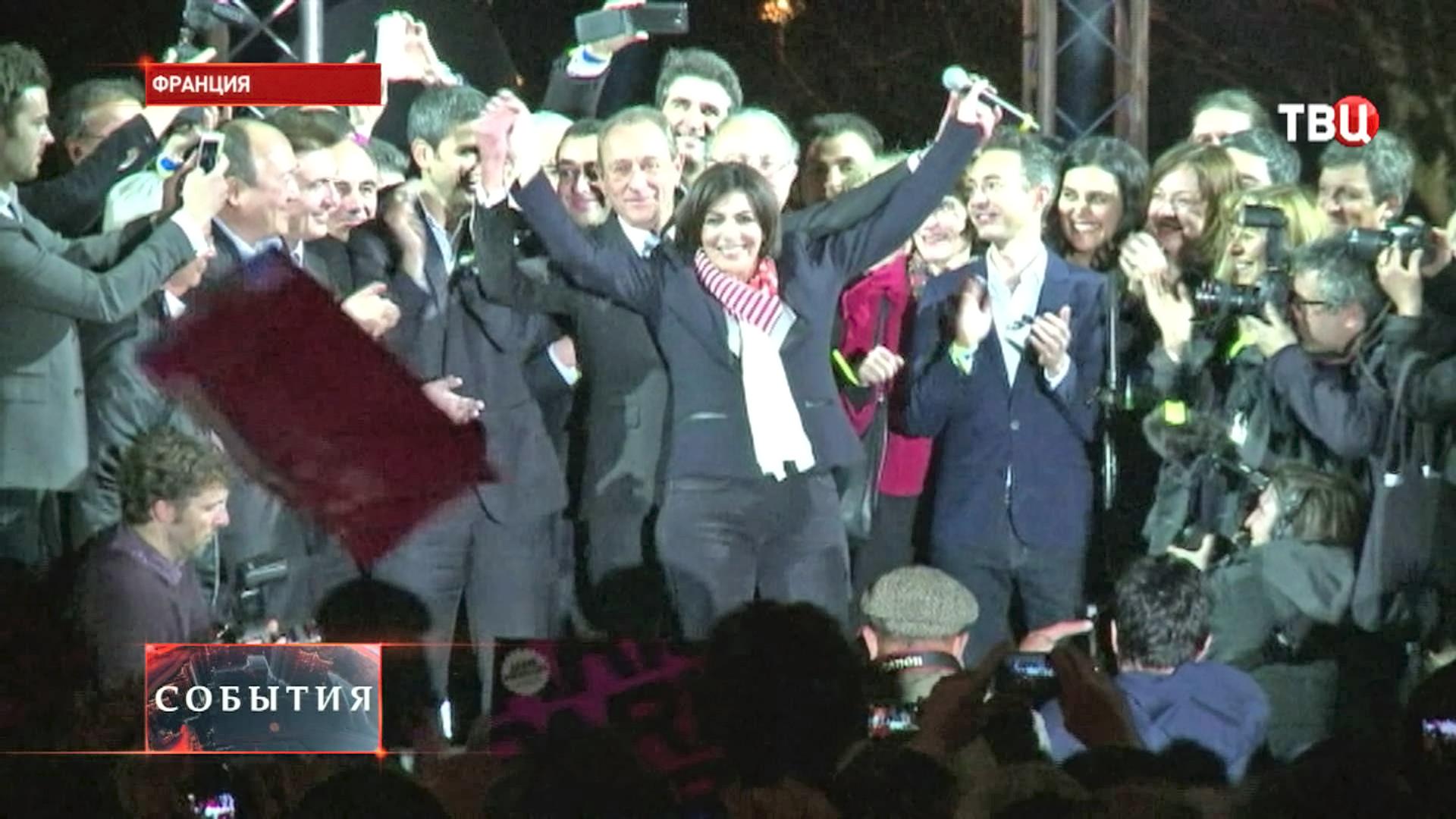 Первая женщина-мэр во Франции Анн Идальго