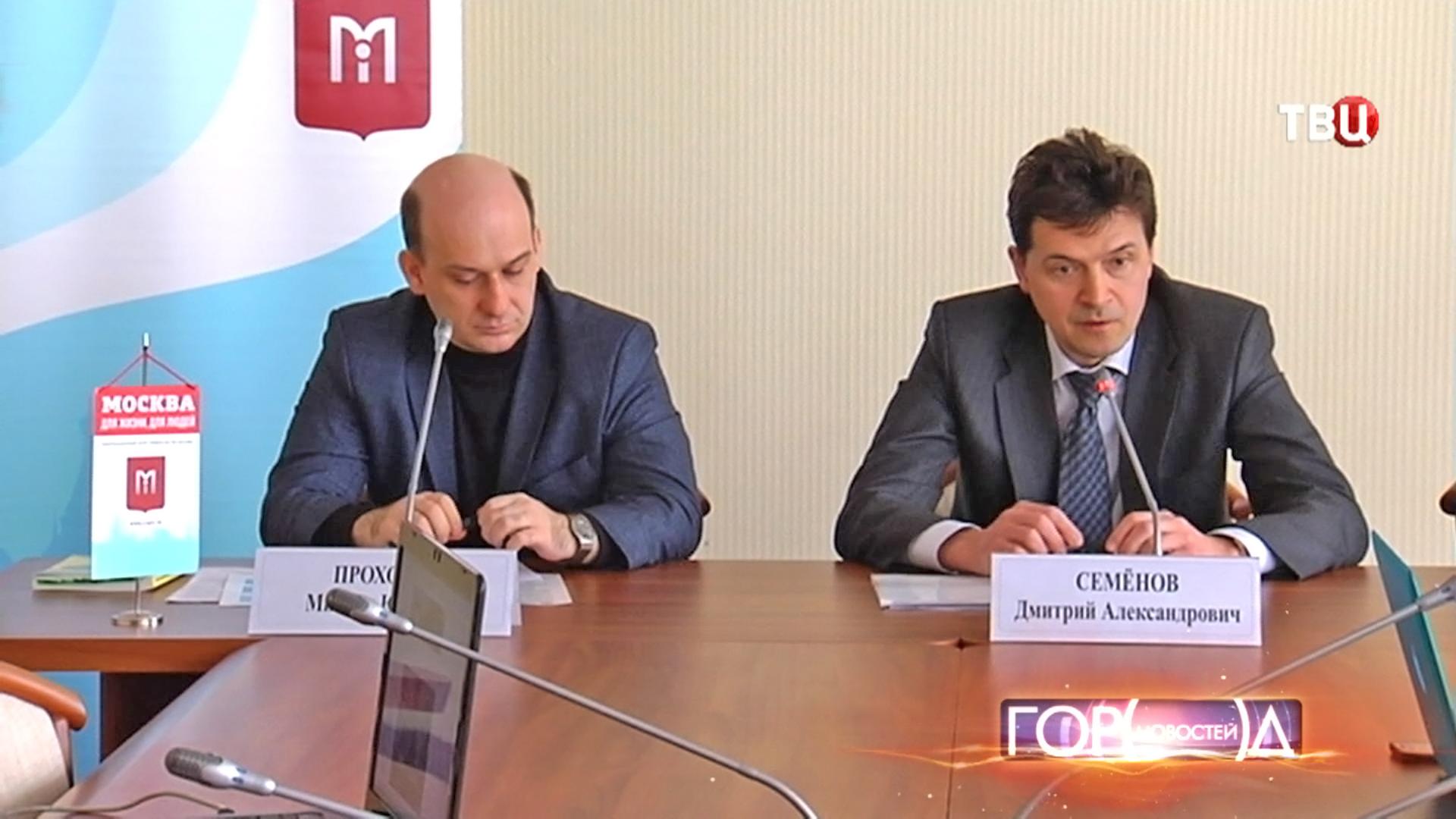 Начальник Объединённой административно-технической инспекции Москвы Дмитрий Семёнов