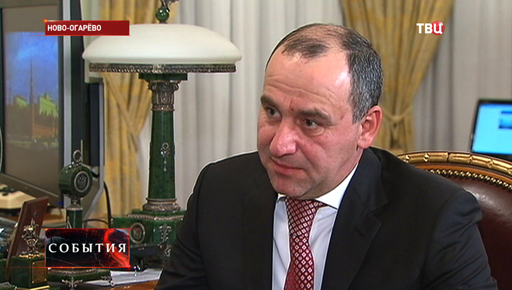 Глава Карачаево-Черкессии Рашид Темрезов