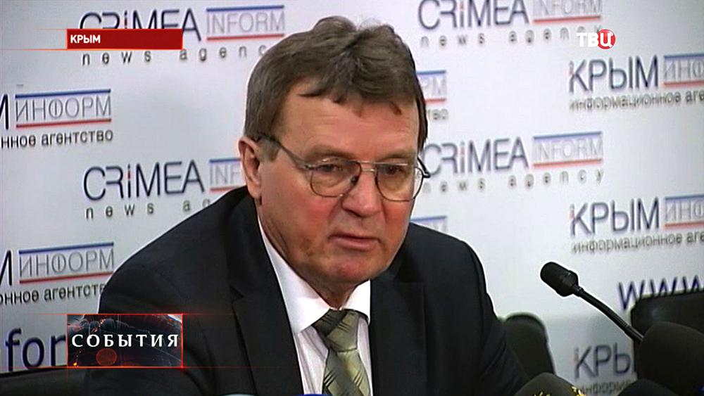 Министр аграрной политики и продовольствия республики Крым Николай Полюшкин