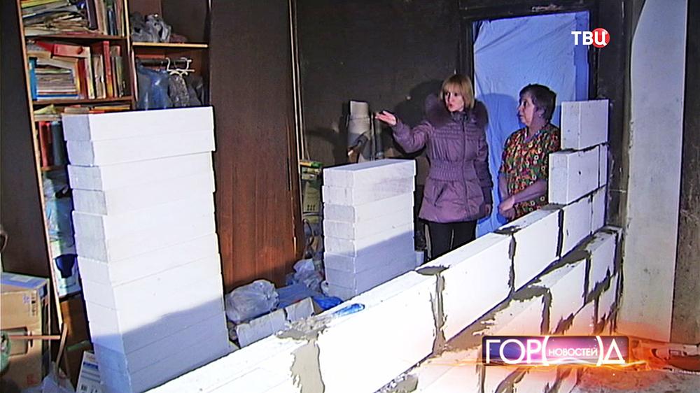 Жильцы пострадавших от взрыва газа квартир
