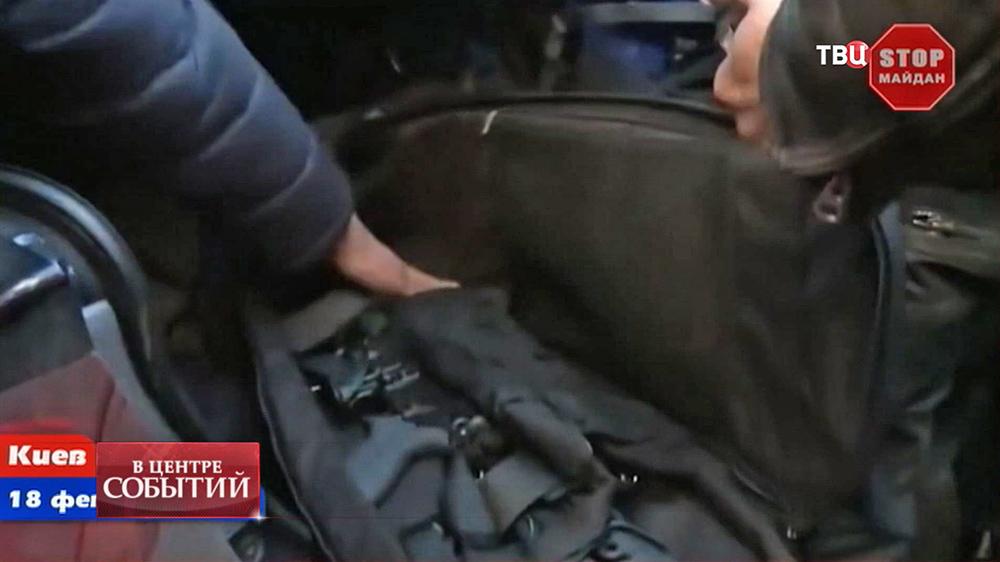 Изъятая в Крыму снайперская винтовка