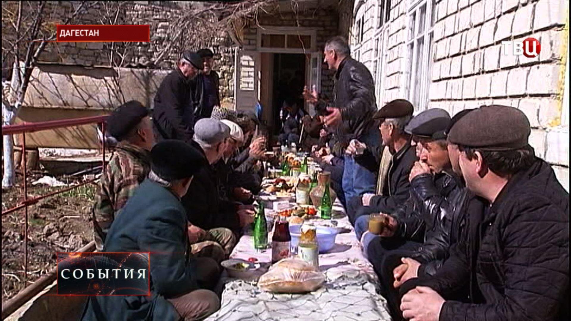Праздник первой борозды в Дагестане