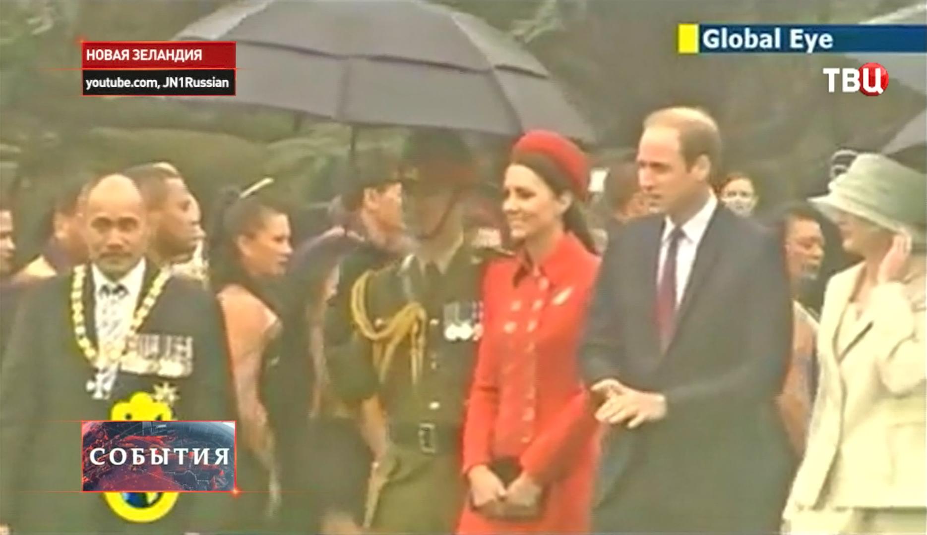 Принц Уильям c супругой Кейт