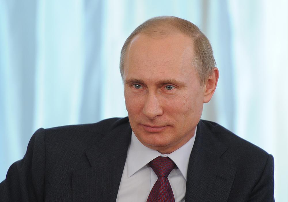 """Владимир Путин на встрече с членами """"Общероссийского Народного Фронта"""""""