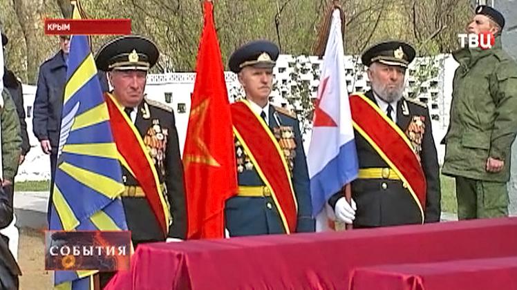 Ветераны празднуют 70-летие освобождения от фашистов