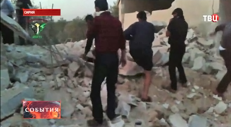 Химическая атака на Сирию