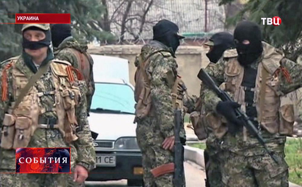 Вооруженный патруль самообороны жителей Юго-Востока Украины
