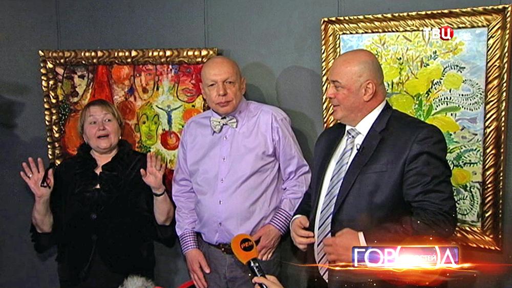 Открытие выставки картин Евгении Васильевой