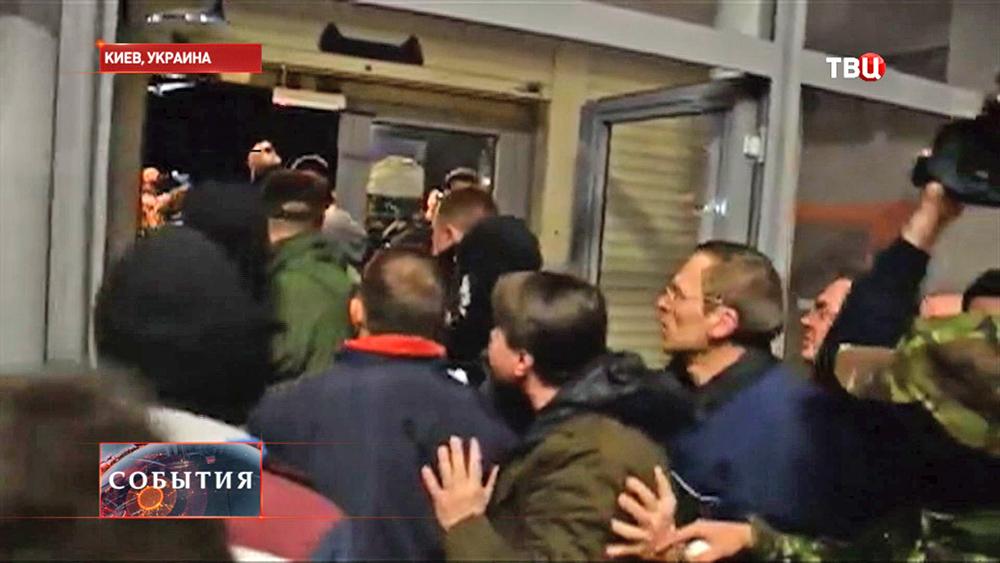 Нападение на кандидата в президенты Украины Олега Царёва