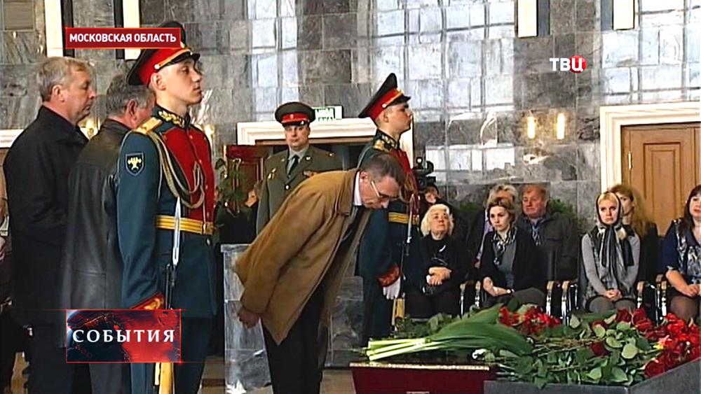 Церемония прощания с конструктором Сергеем Непобедимым