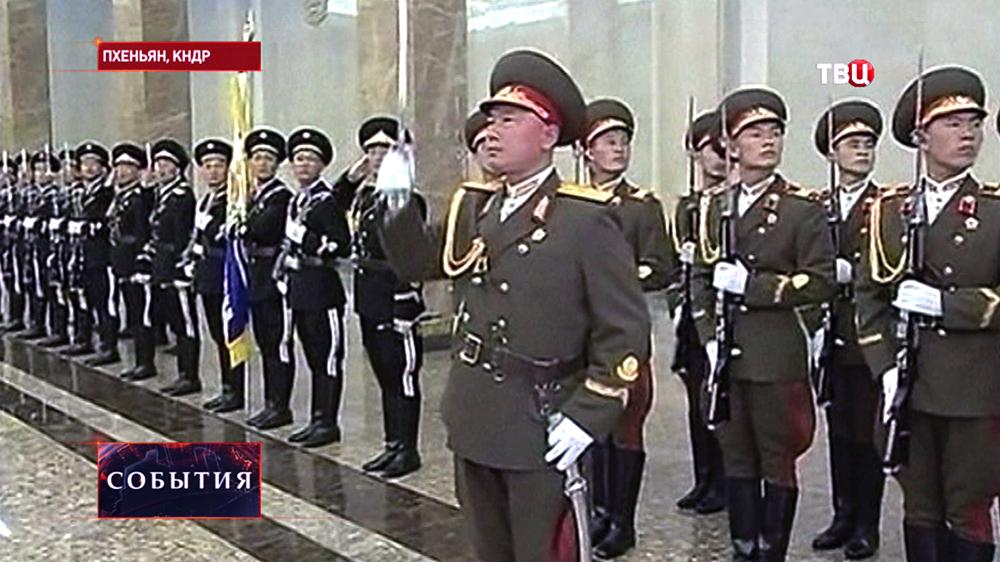 Почётный караул КНДР