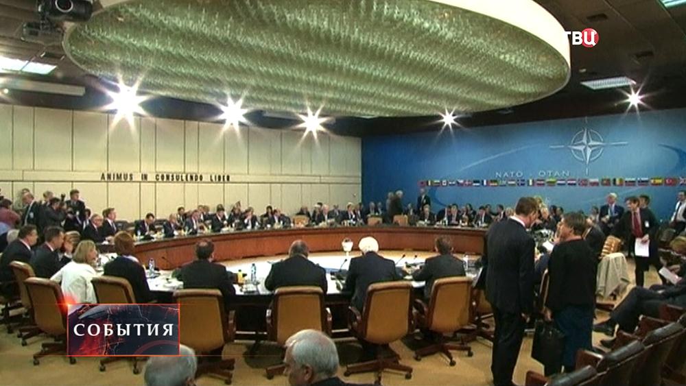 Заседание членов НАТО