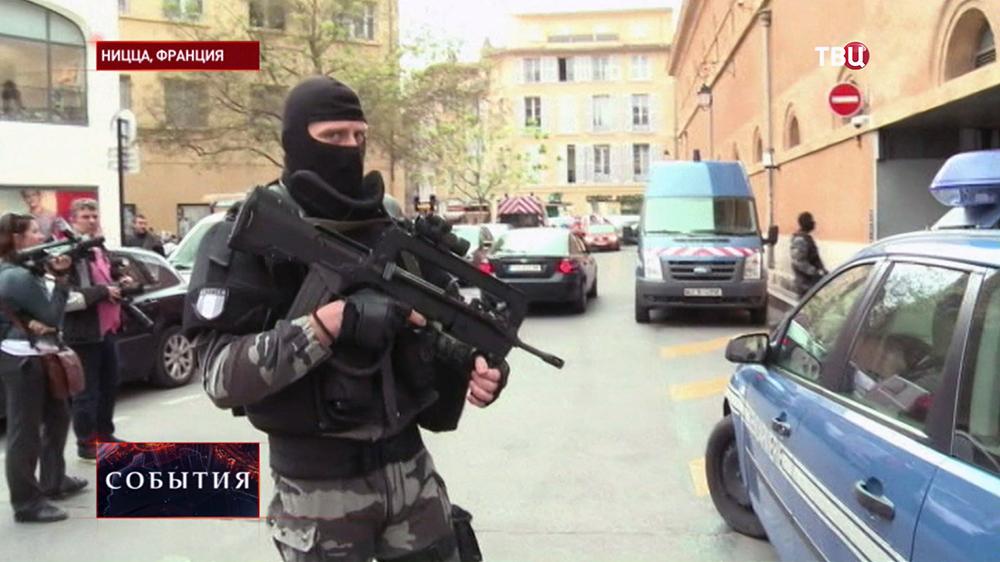 Спецоперация французского спецназа