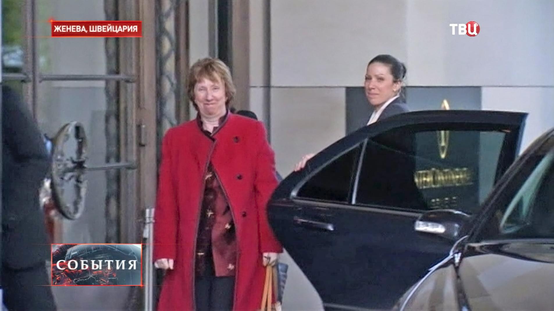 Глава дипломатии Евросоюза Кэтрин Эштон