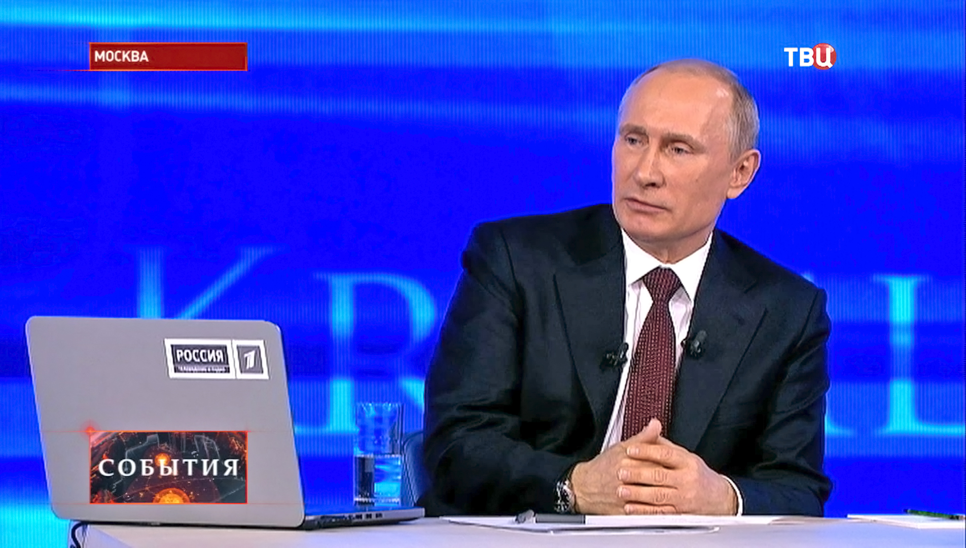 """""""Прямая линия"""" с президентом РФ Владимиром Путиным"""