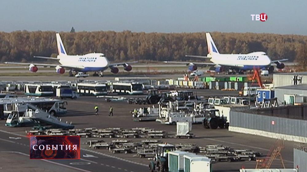 Самолеты на аэродроме
