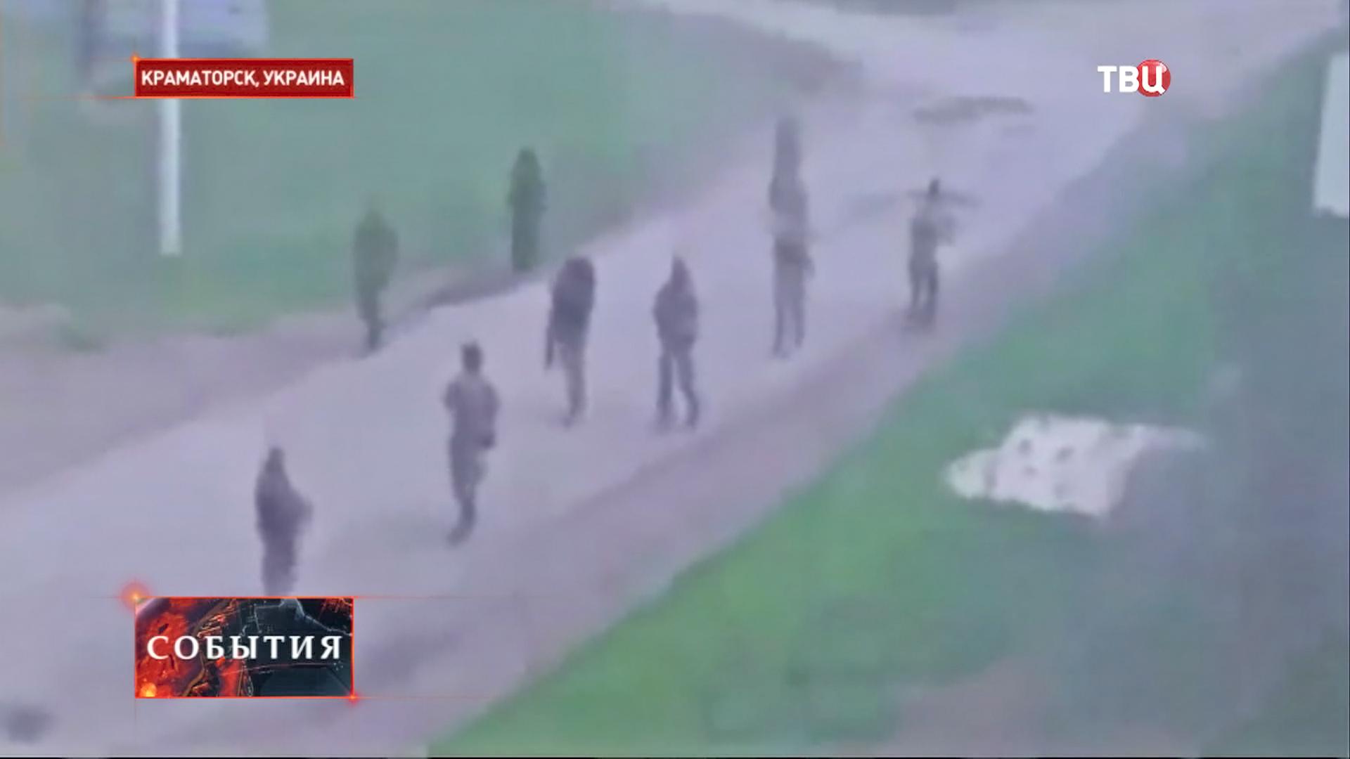 Митингующие в Краматорске