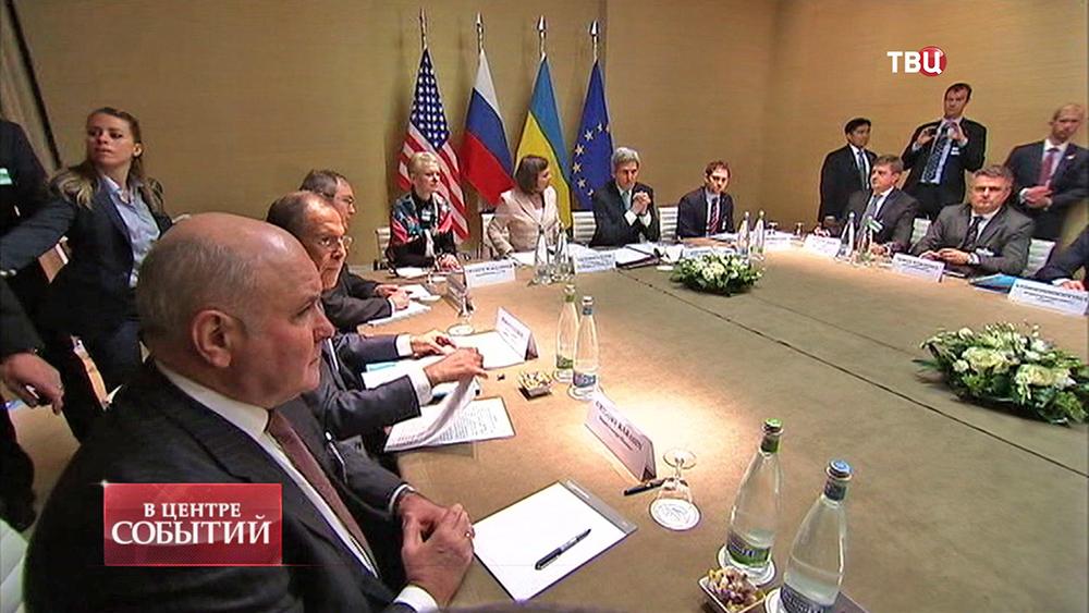 Встреча главы внешнеполитических ведомств в Женеве