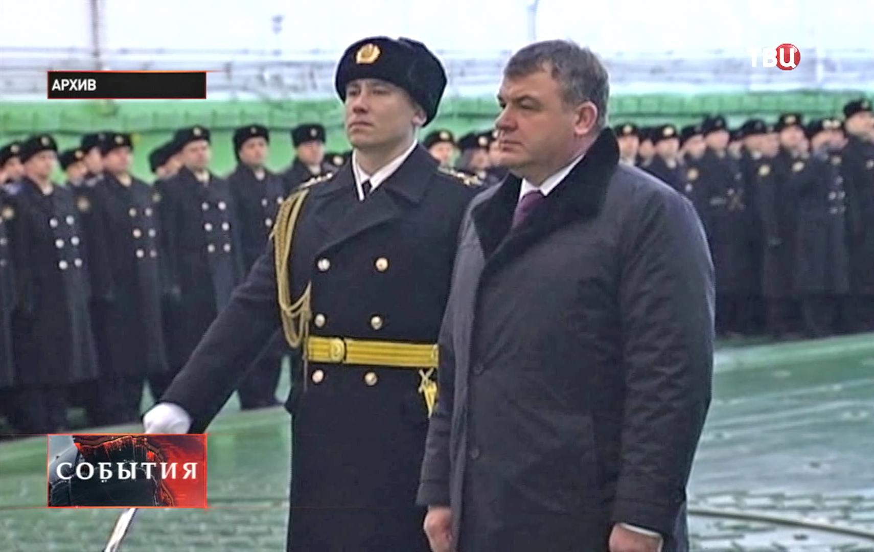 Экс-глава Минобороны РФ Анатолия Сердюкова