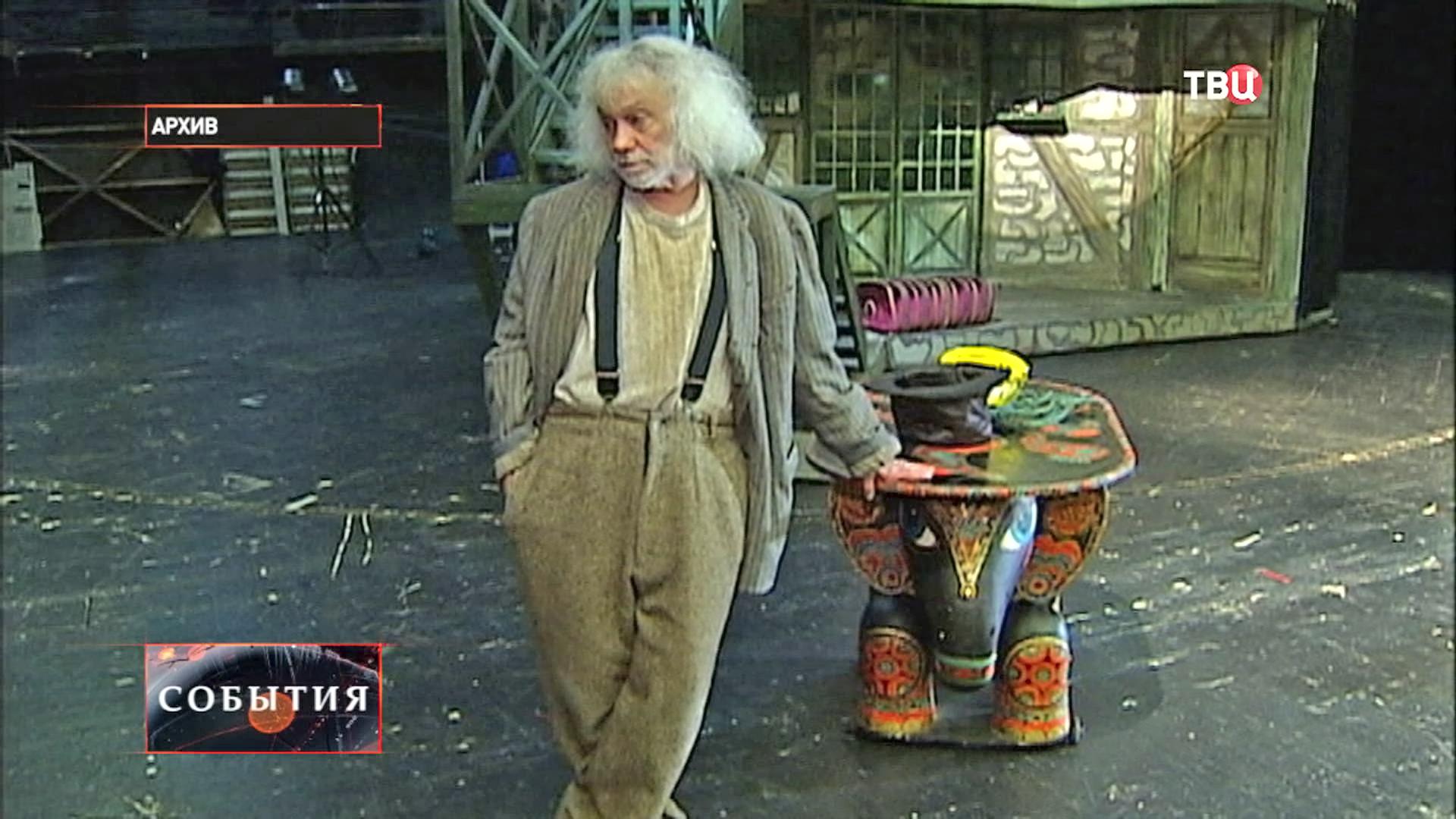 Актер Александр Леньков