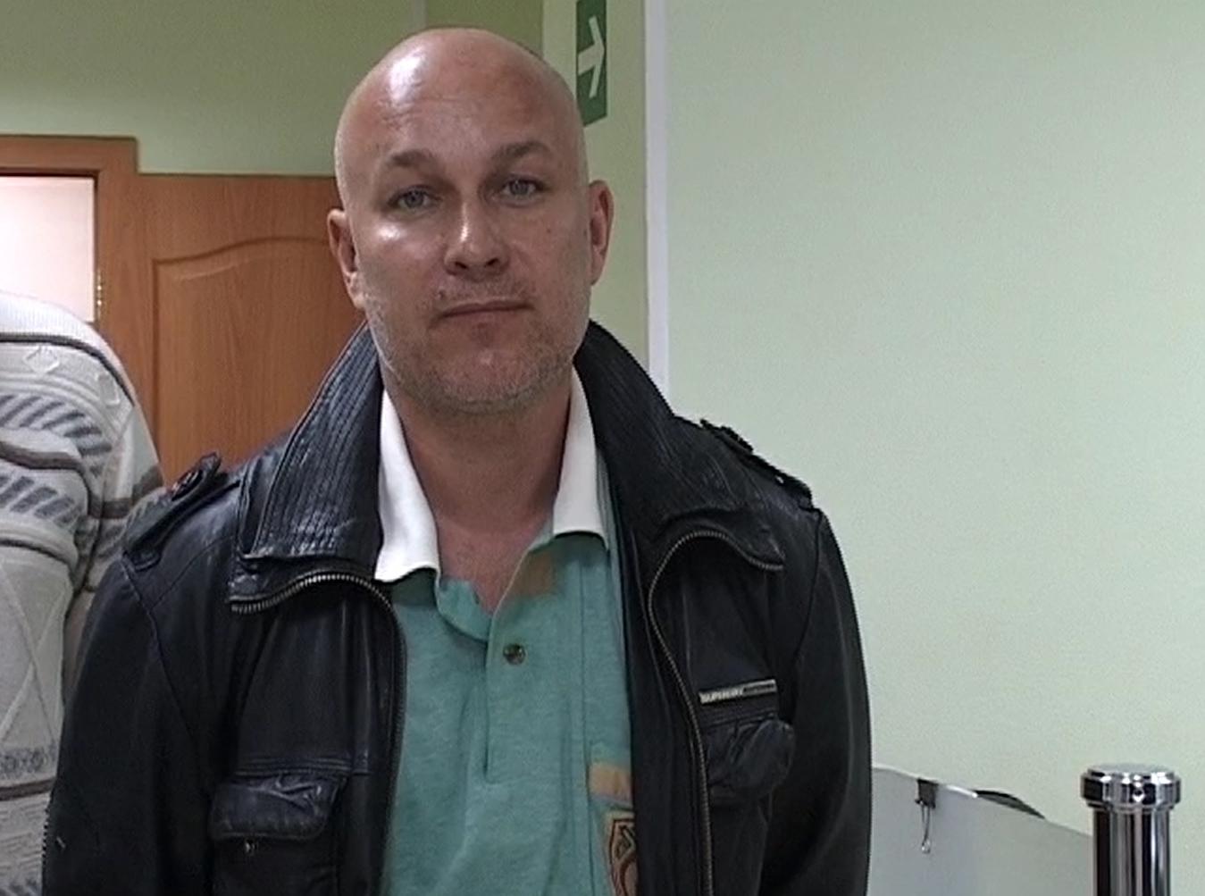 """Александр Вдовин, захвативший заложников в отделении банка """"Западный"""""""