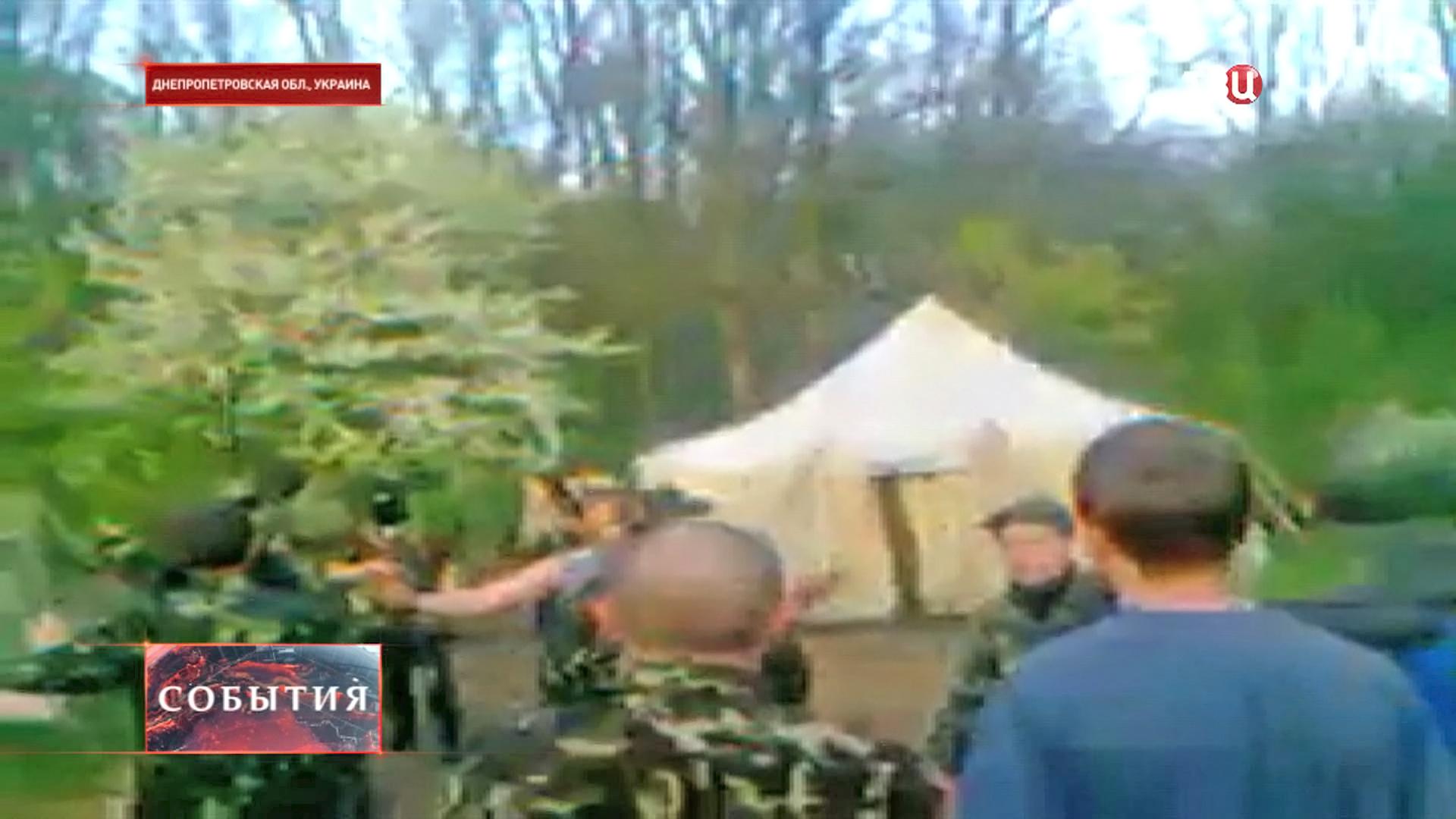 Резервисты 93-й механизированной бригады в Днепропетровской области